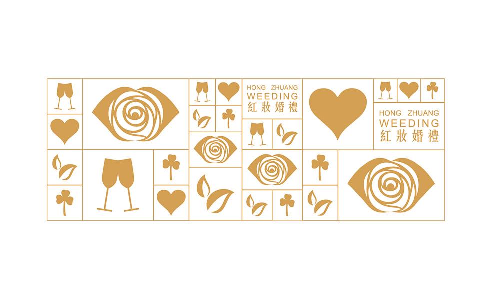 项目名称:红妆婚礼标志设计 项目介绍:郑州红妆婚礼策划